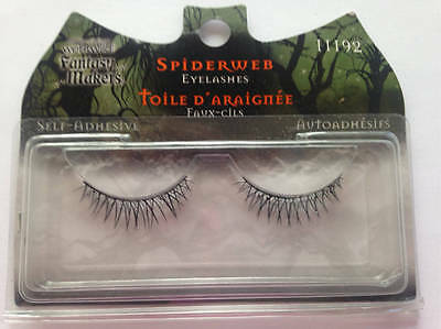 Fantasy Makers Wet N Wild Spiderweb Halloween Costume False Lashes (Halloween Spider Web Maker)