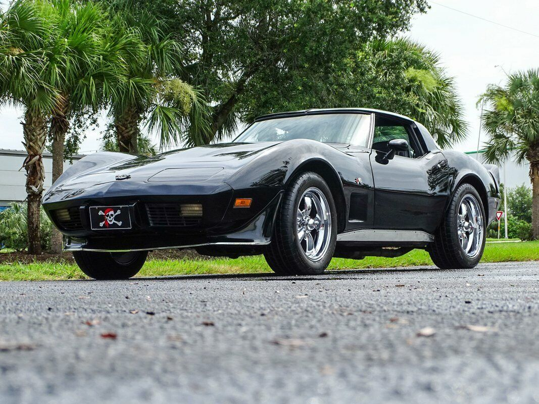 1978 Black Chevrolet Corvette Stingray  | C3 Corvette Photo 7