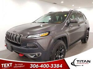 2015 Jeep Cherokee Trailhawk|V6|4x4|Leather|CAM|NAV