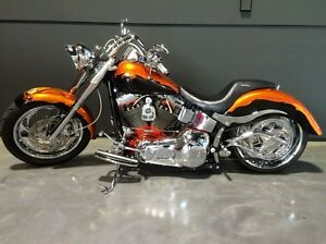 Custom Harley Davidson fat boy
