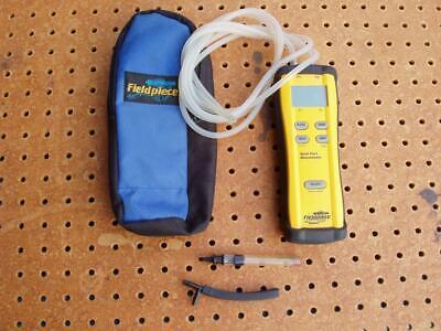 Fieldpiece Sdmn5 Dual-port Manometer Gas Static Pressure Differential Meter