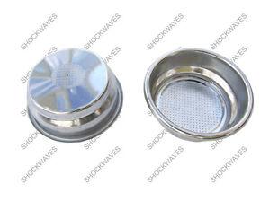 Gaggia 14g Double Shot Pressurised Perfect Perfetta Crema Filter Basket Gaggia