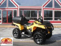 2014 CAN-AM OUTLANDER MAX XT 2 UP!! BACK STORAGE!! FRONT STORAGE Moncton New Brunswick Preview