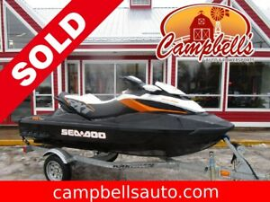2014 SEA-DOO-BRP RXT 260 32 HOURS!! ELECTRIC START!! CRUISE!! IB