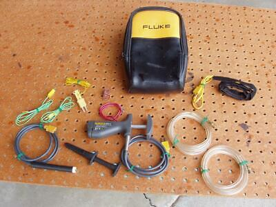 Fluke 80pk-8 Pipe Clamp Temperature Probe Miscellaneous Related Good Cond