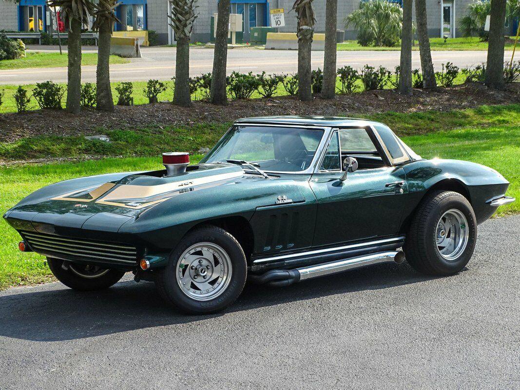 1965 Green Chevrolet Corvette Convertible  | C2 Corvette Photo 6
