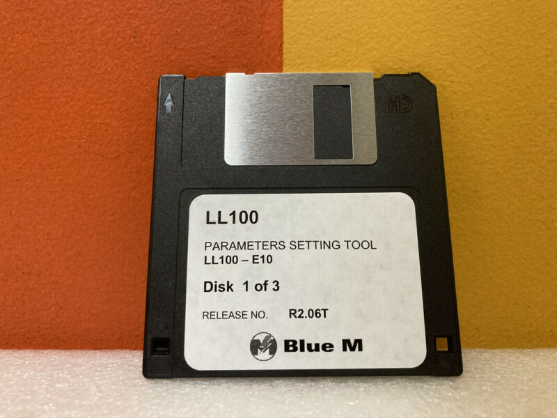LL100 Parameter Setting Tools Disk 1 of 3 Floppy Disk Software