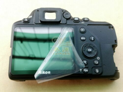 95% NEW Original For Nikon D3500 Rear Cover Back Shell Case with LCD Screen Flex