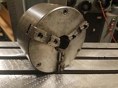 Pulm-m6-14 Three Jaw Chuck With L00 Spindle Mount Inv.37022