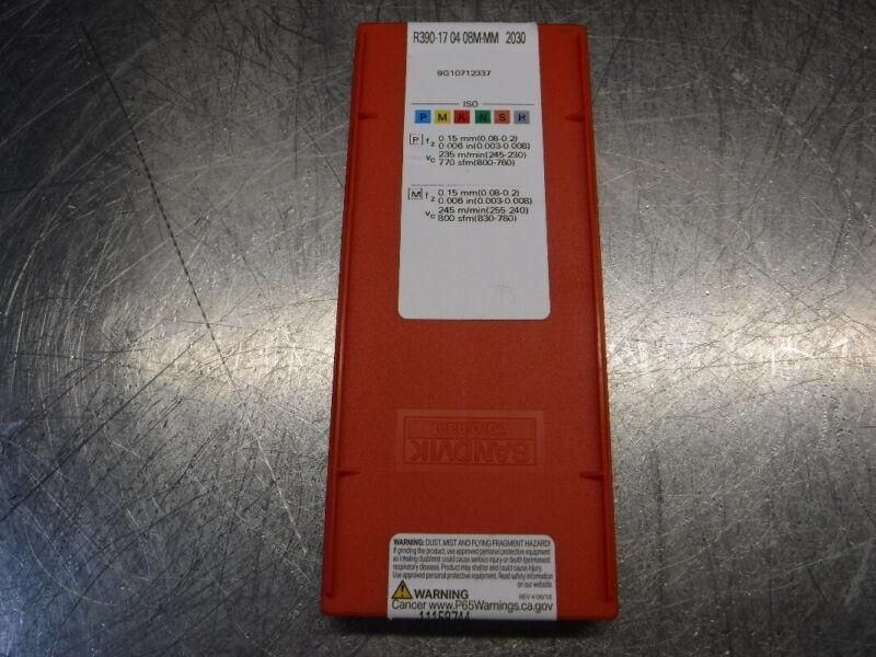 Sandvik Carbide Inserts QTY10 R390-170408M-MM 2030 (LOC1442)