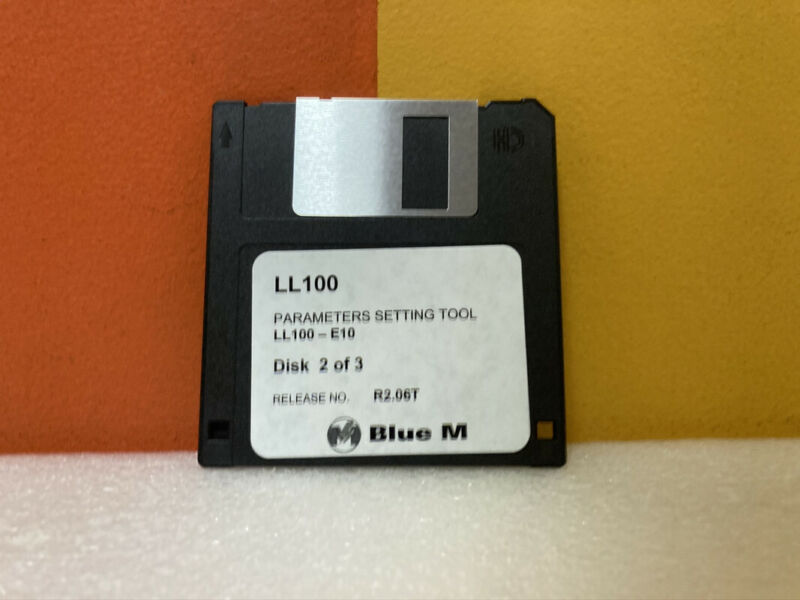 LL100 Parameter Setting Tools Disk 2 of 3 Floppy Disk Software