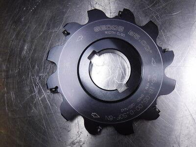 Seco 5 Slot Milling Cutter 1.50 Arbor 335.18-05.00-0.50f-6n Loc1041b
