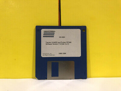 Huntron 1988-1994 Tracker 5100ds And Prober Rp388 Disk 3 Of 3 Floppy Software