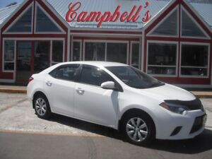 2015 Toyota Corolla LE HEATED SEATS BACK UP CAMERA!!