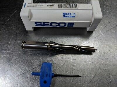 Seco 12mm-12.49mm Indexable Drill Sd105-12.0012.49-65-0625r7 17648 Loc2908b