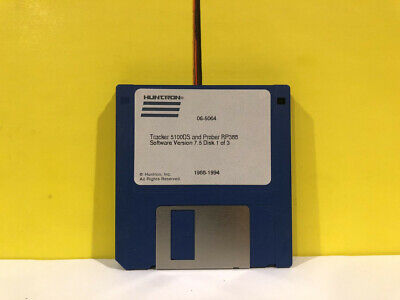 Huntron 1988-1994 Tracker 5100ds And Prober Rp388 Disk 1 Of 3 Floppy Software