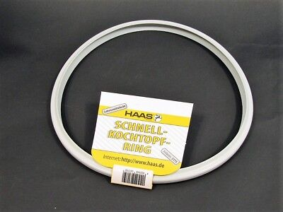 Haas Dichtungsring für Silit Sicomatic Schnellkochtopf 22 cm Ring Gummiring 22cm