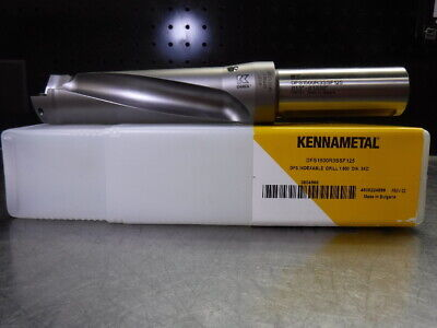 Kennametal 1.5 Indexable Drill 1.25 Shank Dfs1500r3ssf125 Loc1005b