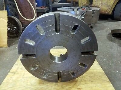 14 Cast Iron Face Plate D1-8 Spindle Mount Inv.36434