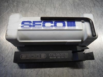 Seco Indexable Cut Off Tool Holder 58 X 58 Shank Cfil06303b Loc2561