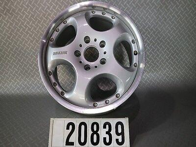 "1Stk.orig. Brabus Monoblock IV Mercedes Alufelge 8,5Jx18"" ET55 Mehrteilig #20839"