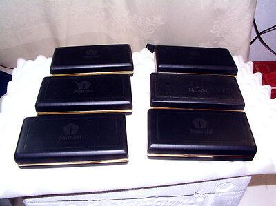 6 (SIX) NAMIKI  FOUNTAIN/BALLPOINT?ROLLERBALL PEN  BOXES/BOX ONLY!!!!!!!!!!!!!!