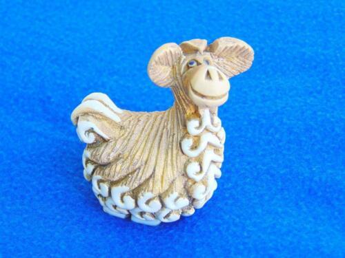 Llama Figurine Short cute adorable fuzzy unique style gift Estate find odd CJ