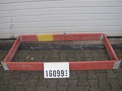 1 Satz Layher Bordbrett  Stirnbordbrett Fahrgerüst Rollgerüst 15x75x180cm #16099