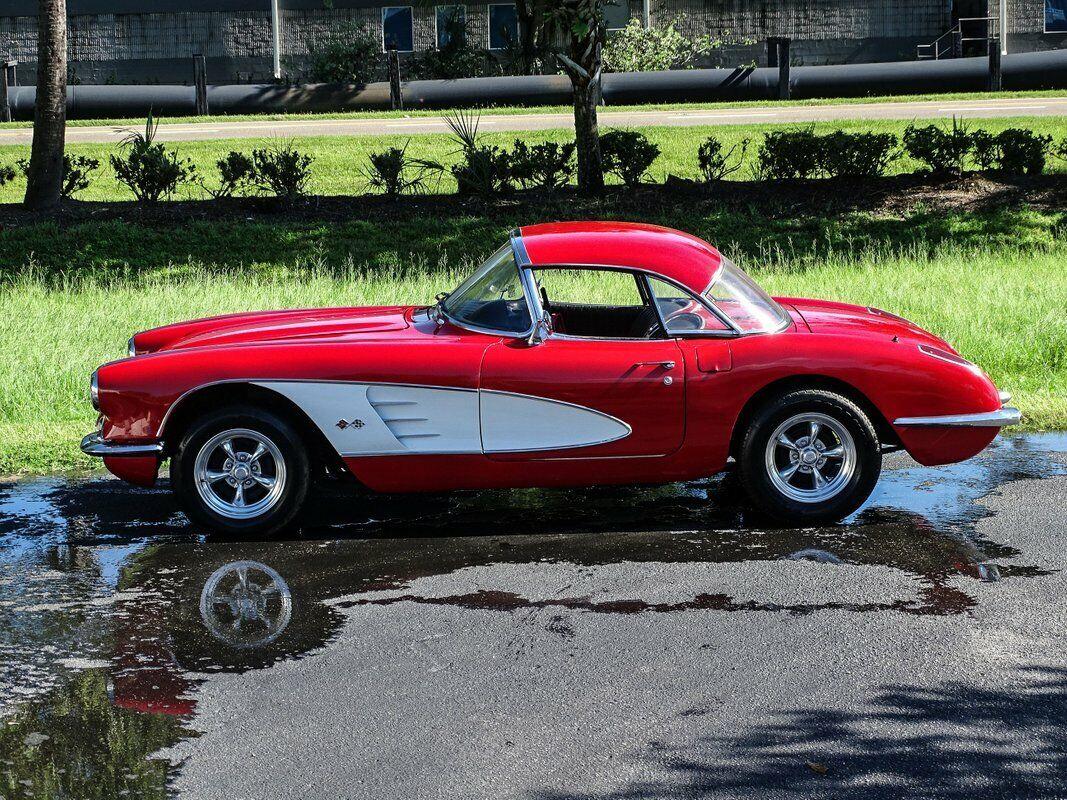 1959 Red Chevrolet Corvette Convertible  | C1 Corvette Photo 7