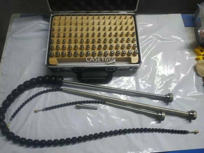 Trumpet Horn Repair Tools Kit Parts - 105 Balls+3 Handles Heavy Duty Durable NEW