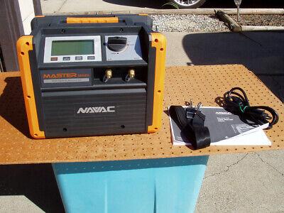 Navac Nrdd Brushless Dc Refrigerant Recovery Unit Master Series Hvac Nice Cond