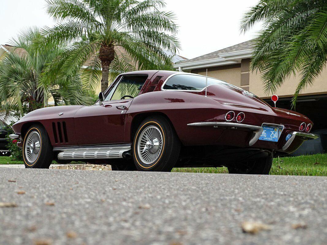 1965 Milano Maroon Chevrolet Corvette Stingray  | C2 Corvette Photo 10