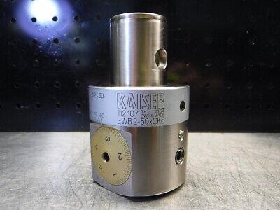 Kaiser Kab6 Balanceable Boring Bar Head 10.112.107 Loc1950b