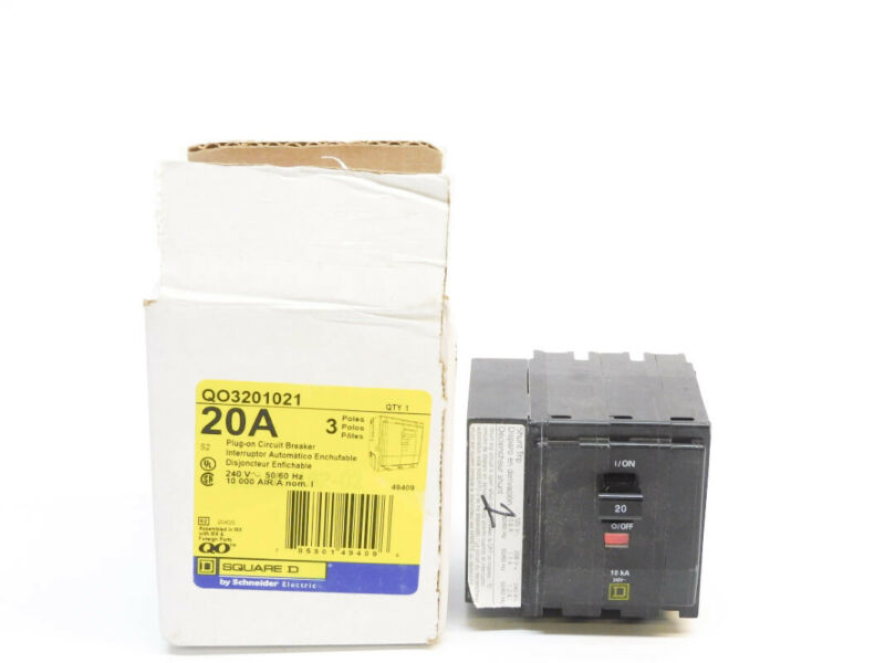 SQUARE D QO3201021 20A 240V (AS PICTURED) NSMP