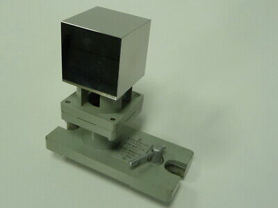 Zeiss 6 Sided Cube 50mm -05m With Base Gage Block Cmm Calibration Wrfel