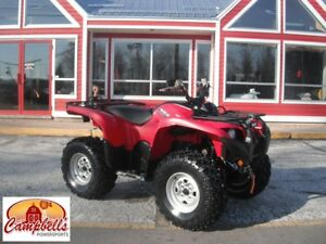2014 YAMAHA GRIZZLY FRONT AND REAR RACK!! POWER STEERING!! LIGHT