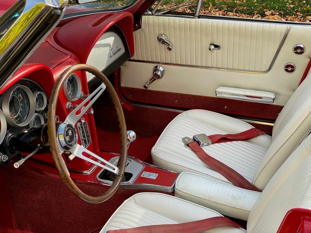 1964 Red Chevrolet Corvette Convertible    C2 Corvette Photo 5