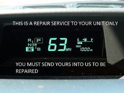 2004-2009 Repair service instrument cluster combination meter Toyota Prius
