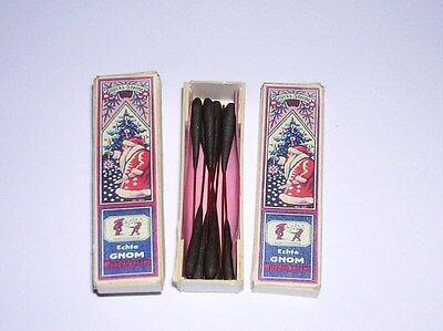 2 Schachteln  Miniatur Wunderkerzen Sternwerfer 5cm