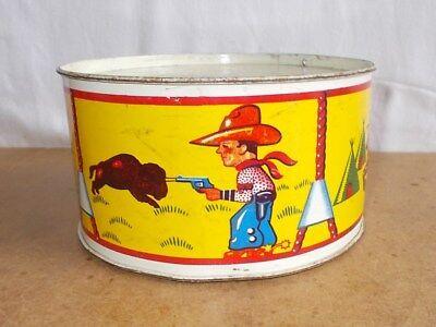 Ancien jouet TAMBOUR en métal / vintage DRUM toy - F.D.C. BRUGES ( fdc ) 50/60s
