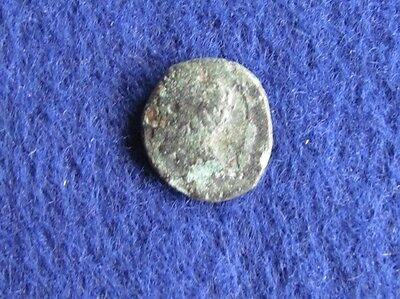 SCARCE Bronze coin of Panormos/Sicily 336-330 B.C.Horse/Dolphin