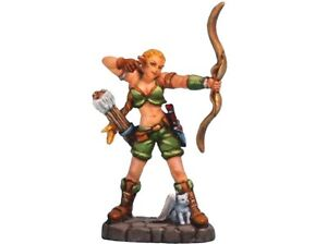 FE17-Forest-Elf-Miniature-Games-Female-Archer-figure-Aurora-Model