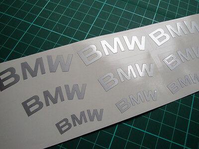 BMW Premium High Temp Brake Caliper Calliper Decals   all models and options