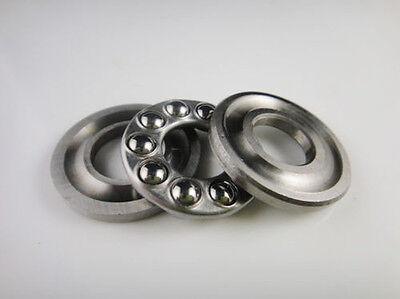 2pcs 15 X 28 X 9mm 51102 Single Direction Thrust Axial Ball Bearings
