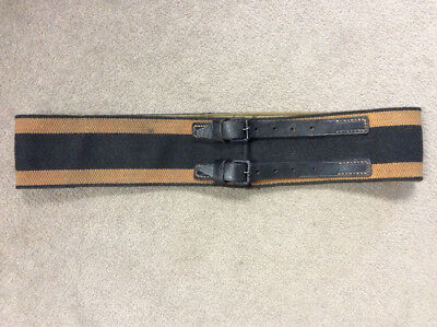 Authentic IMPERIAL GERMAN NAMED FIREMAN BELT From KAUSERLAUTERN GERMANY