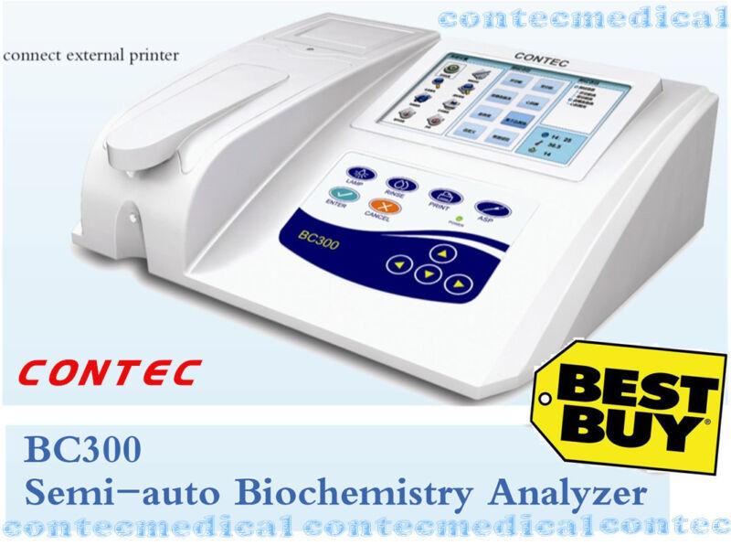 CONTEC BC300 Semi-auto Biochemistry Analyzer,Blood glucose,Blood lipids 3 modes