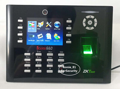 10000 Fingerprints High-speed Employee Attendance Fingerprint Time Clock