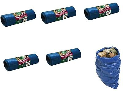 100 HEAVY DUTY BUILDERS RUBBLE SACKS BAGS STRONG TOUGH PACKAGING WASTE RUBBISH