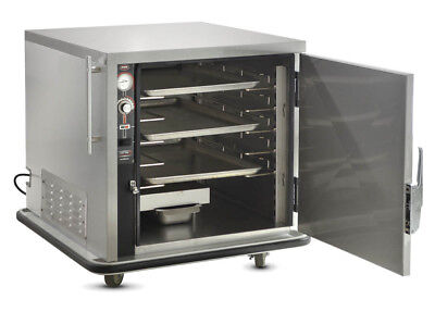 Fwe Undercounter Insulated Mobile Heated Cabinet W 4 Pan Capacity Model Uhs-4