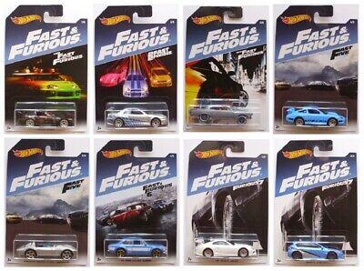 2017 Hot Wheels Walmart Exclusive Fast and Furious Series - Y*O*U*-*P*I*C*K*